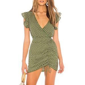 NWOT Tularosa Huntington dress green